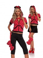Miss Mouse Adult Women's Costume