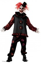 Carver the Killer Clown Adult Costume