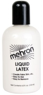 Mehron Liquid Latex 4.5oz Prosthetics Makeup Costume Accessory