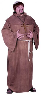 Medieval Monk Plus Size Adult Costume
