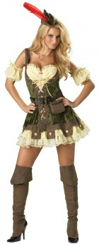 Racy Robin Hood Elite Collection Adult Women's Costume