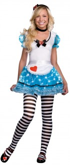 Wonderland's Delight Junior Teen / Tween Costume XS