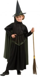 Wizard of Oz Wicked Witch Child Girls Costume