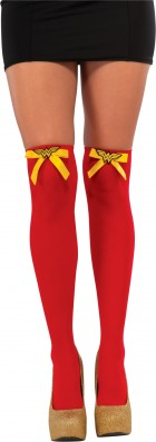 Wonder Woman Adult Thigh Highs