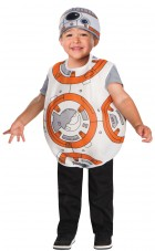 Star Wars Episode 7 The Force Awakens BB-8 Droid Toddler Costume 4T