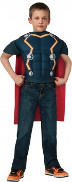 Thor Muscle Top Child Costume
