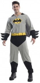 Batman Onesie Adult Costume Standard