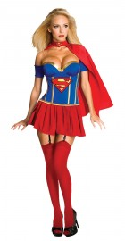 Supergirl Deluxe Adult Costume Small