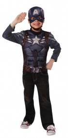 Captain America Muscle Shirt Child Costume