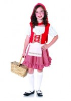 Lil' Miss Red Riding Hood Toddler / Child Girl's Costume