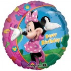 Minnie Mouse Happy Birthday 45cm Foil Balloon