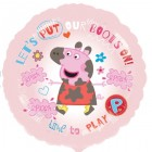 Peppa Pig Let's Put Our Boots On 45cm Foil Balloon