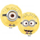 Despicable Me Minions 2 Sided 45cm Foil Balloon