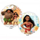 Moana 2 Sided Design 45cm Foil Balloon