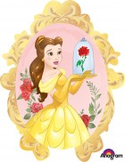 Shape Beauty and the Beast Belle Mirror Frame Foil Balloon