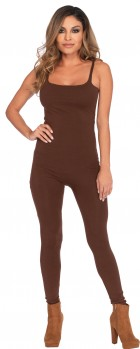 Basic Unitard Adult Brown Costume