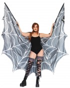 Spider Web Halter Wing Cape Adult Costume Accessory
