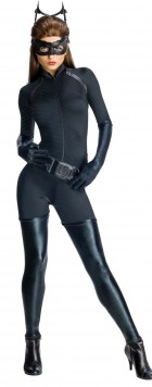 Batman The Dark Knight Rises Secret Wishes Catwoman Adult Women's Costume