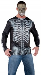 Photo Real Shirt X-Ray Adult Costume