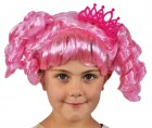 Lalaloopsy Jewel Sparkles Girl's Doll Costume Pink Wig