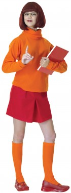Scooby-Doo Velma  Adult Women's Costume One Size_thumb.jpg
