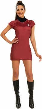 Star Trek Movie (2009) Red Dress Deluxe Adult Women's Costume_thumb.jpg