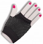 1980's Black Short Fishnet Women's Gloves Costume Accessory_thumb.jpg