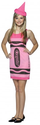 Tickle Me Pink Crayola Crayon Teen Girl's Costume_thumb.jpg