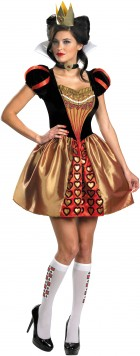 Alice In Wonderland Movie - Sassy Red Queen Adult Women's Costume_thumb.jpg