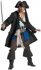 Pirates of the Caribbean Captain Jack Sparrow Prestige Teen Boy's Costume_thumb.jpg