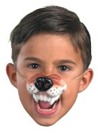 Wolf Nose With Elastic Band Costume Accessory_thumb.jpg