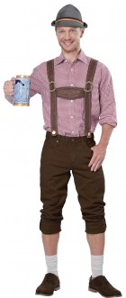 Lederhosen Adult Costume Kit. NZ$46.95