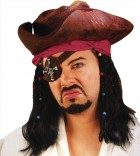 Caribbean Pirate Wig With Beads & Bandana_thumb.jpg