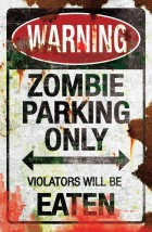 Metal Sign Zombie Parking Halloween Prop_thumb.jpg