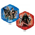 Shape Star Wars Episode VII The Force Awakens Characters 2 Sided Hexagon Foil Balloon_thumb.jpg
