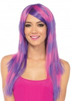 Long Striped Cheshire Cat Wig Adult_thumb.jpg