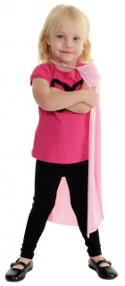 24 Inch Child Superhero Costume Cape Pink _thumb.jpg