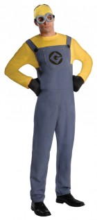 Despicable Me 2 Minion Dave Adult Costume Standard