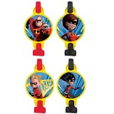 The Incredibles 2 Blowouts Pack of 8