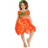 Light Up Pumpkin Princess Child Girl's Costume