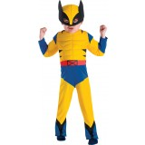 Wolverine Muscle Toddler Costume