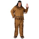 Native American Indian Adult Plus Costume One Size