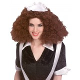 Rocky Horror Picture Show - Magenta Curly Wig Women's Costume Accessory