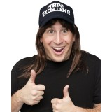 Excellent! Wayne Wig and Hat Men's Costume Accessory Kit