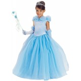 Blue Princess Cynthia Child Girl's Costume