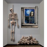 Halloween Giant Ghastly Skeleton Wall Decorations
