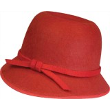 1920s Roaring Flapper Adult Costume Hat Red