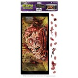 Halloween Microwave Door Decor