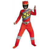 Power Rangers Red Ranger Dino Charge Classic Child Costume