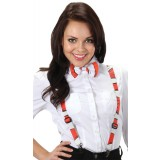 The Cat in the Hat Striped Suspenders